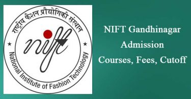 NIFT Gandhinagar Admission Course