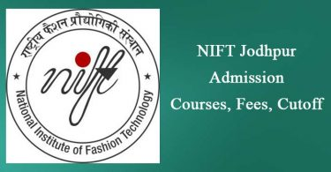 NIFT Jodhpur Admission Course