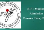 NIFT mumbai Admission Course